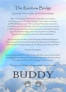Rainbow bridge poem for dogs free image myideasbedroom com
