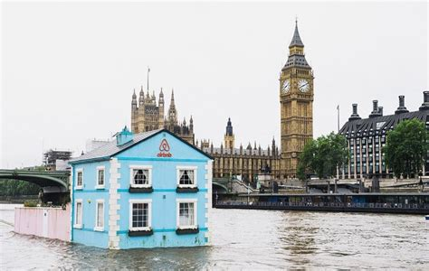 airbnb houseboat airbnb s rental houseboat floats down london s river