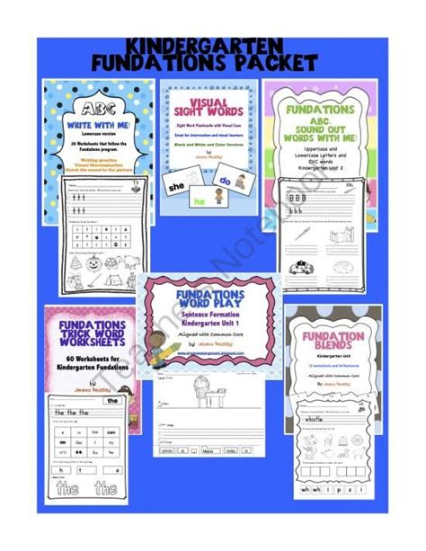 fundations letter formation fundations kinder packet from busy bumblebees on