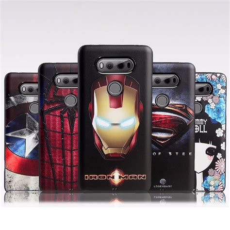 original silicon for lg v20 protector shell tpu soft 3d stereo relief cases for lg v20