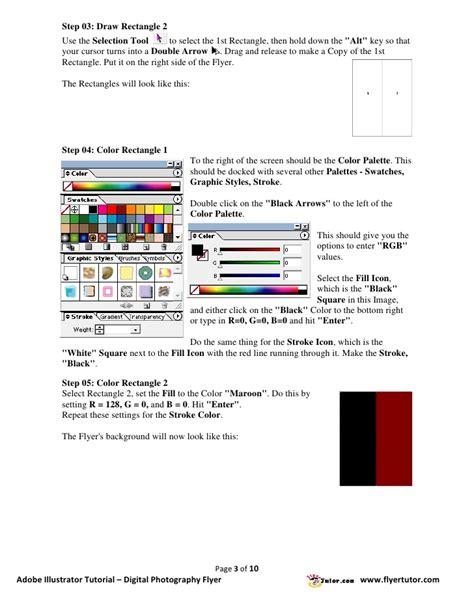 flyer design illustrator tutorial adobe illustrator tutorials digital photography flyer