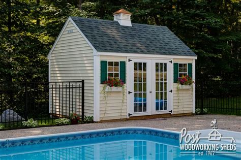 pool shed lexington pool shed with cupola post woodworking sheds