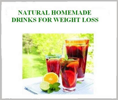 Detox And Weight Loss Drinks Made At Home by Drinks To Cut Calories