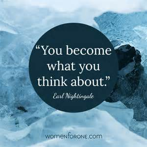 you become what you think about earl nightingale women