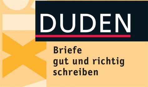 duden briefe gut und richtig schreiben pdf o j苹zyku niemieckim