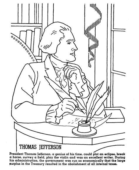 thomas coloring page pdf thomas jefferson coloring pages coloring home