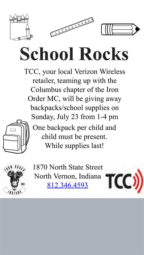 School Supply Giveaway 2017 Columbus Ohio - iron order news