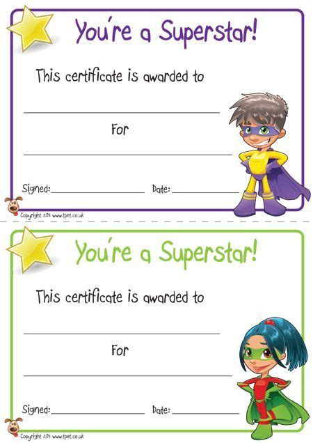 kid certificate templates free printable free printable certificates for your