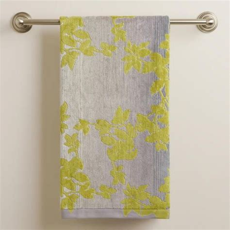 Botanical Ombre Jacquard Bath Towel Ombre Products And Rugs Bathroom Rugs And Towels