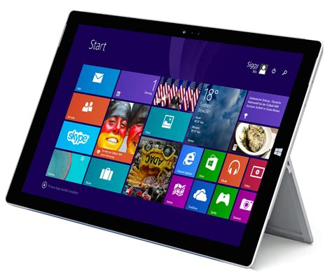 Tablet Microsoft Surface Pro 3 surface pro 3 microsoft im test