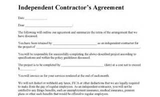 work for hire agreement template independent contractor agreement contractor agreement