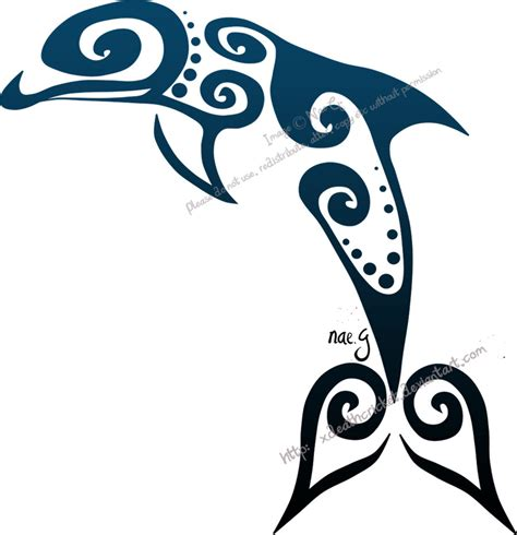dolphin tribal tattoo polynesian bird polynesian birds maori