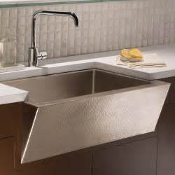 C Kitchens With Sink Copper Apron Kitchen Sink Quicua
