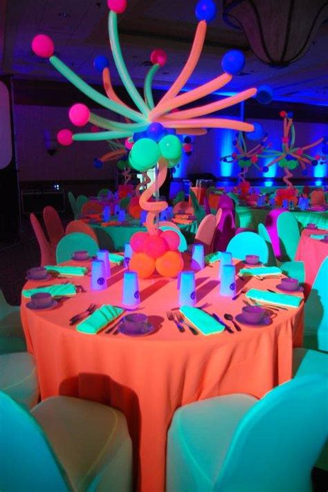 neon centerpieces www imgkid the image kid