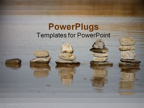 rock powerpoint themes powerpoint template a beautiful depiction of a number of