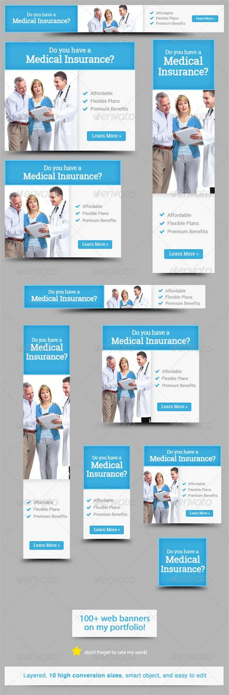 medical insurance web banner design web banner design