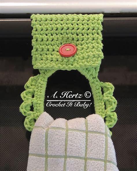 dish towel potholder tutorial youtube 321 best images about crochet knit kitchen bath on