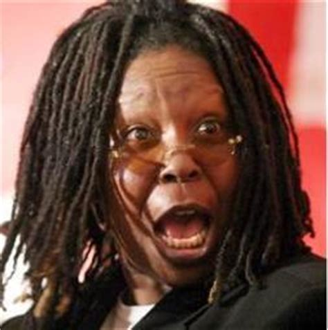why did whoopie goldberg shave the side of her head parade of fools