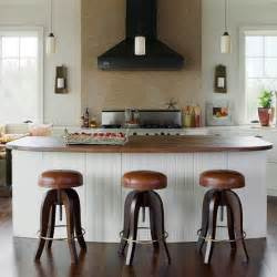 Islands For Kitchens With Stools Bhg Centsational Style