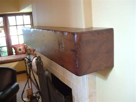 floating distressed alder mantel shelf call for quote