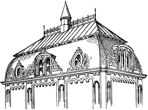 french roof styles french roof clipart etc