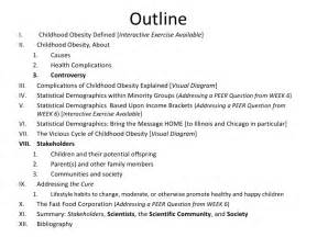 Conclusion Paragraph Outline Research Paper by Childhood Obesity