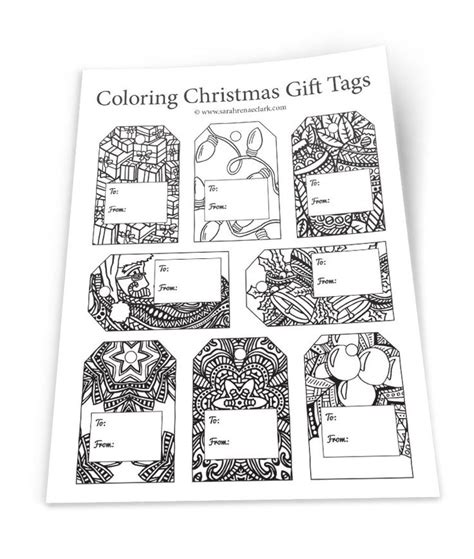 17 best ideas about gift tag templates on pinterest tag