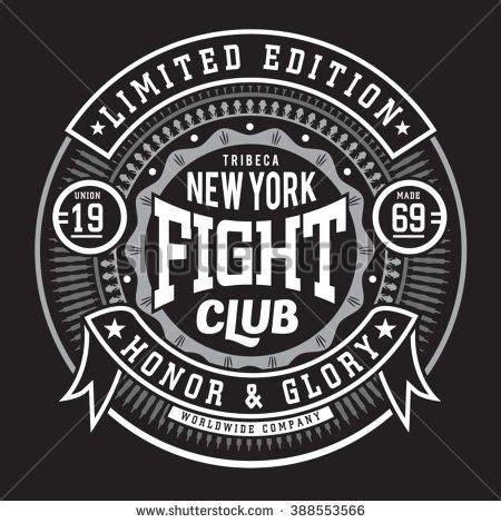 Kaos Custom Typography fight boxing sport typography t shirt graphics vectors