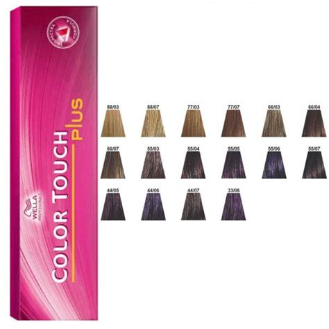 color touch wella wella color touch plus sanotint light tabella colori