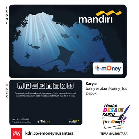 E Money Mandiri Barcelona desain kartu mandiri e money hellomotion