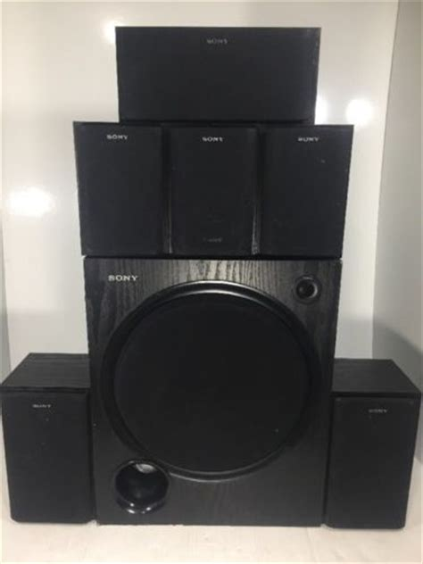 sony center home theater speaker model number ss cn290