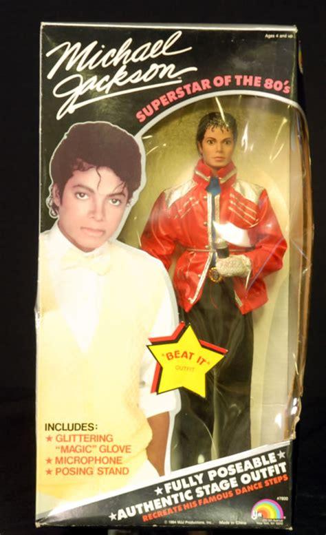 Original Kartu Basket Michael A Cut Above michael jackson superstar doll beat it usa