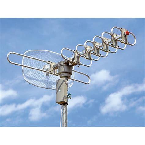 elite hdtv outdoor antenna  remote