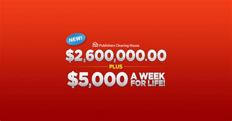 Pch 5000 A Week For Life 2017 Winner - publishers clearing house sweepstakes 2017 winzily