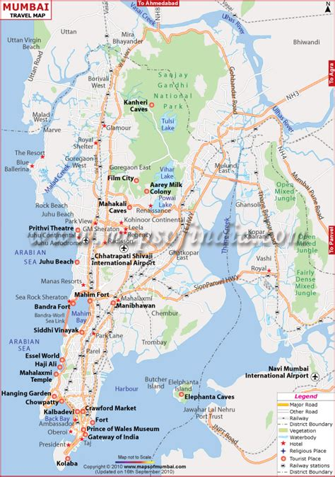 mumbai map mumbai map map of mumbai india india maps maps india maps of india india map