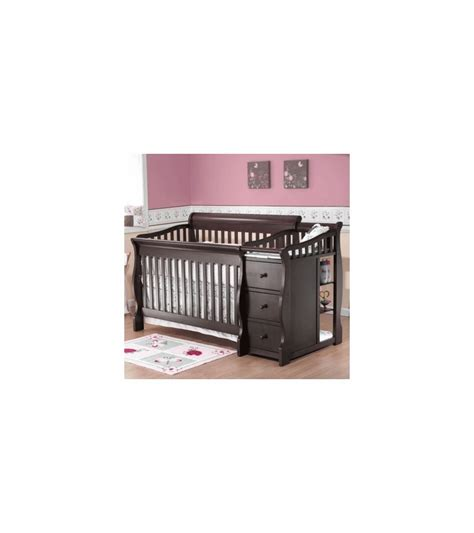 sorelle tuscany 4 in 1 convertible crib and changer combo sorelle tuscany 4 in 1 convertible crib combo in espresso