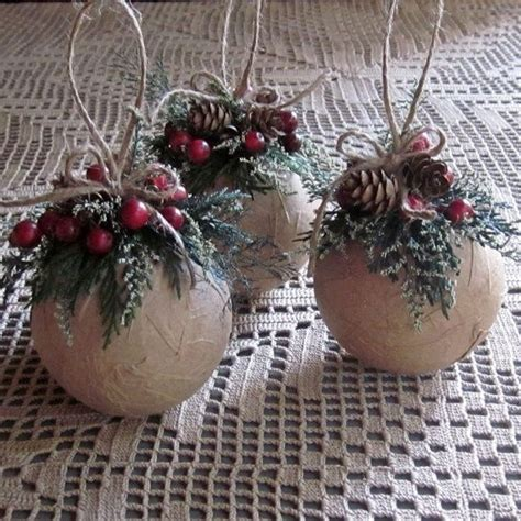 rustic christmas ornaments beneconnoi