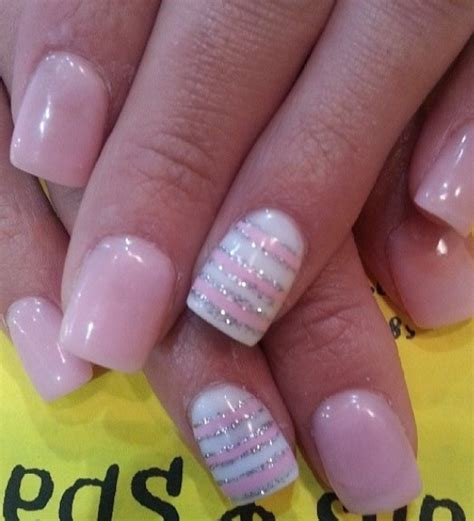 Light Pink Nails by 15 Pink Nail Arts You Must Pretty Designs