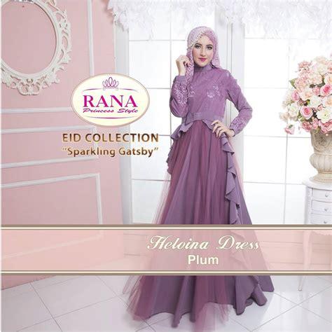 Syaluna Dress Gamis gaun pesta muslim 2016 pusat busana gaun pesta muslim modern