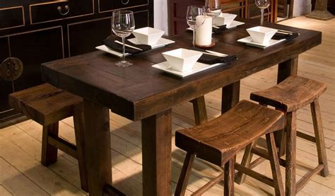 Dining Room Sets For Small Spaces by Narrow Trestle Dining Table Narrow Dining Table Create