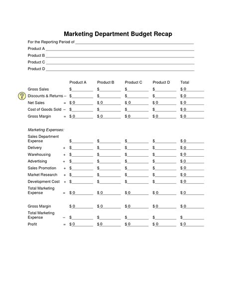 16 Best Images Of Sle Student Budget Worksheet Goal Setting Worksheet Template College Department Budget Template