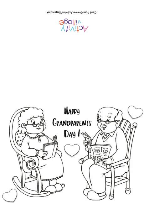 printable birthday cards activity village happy grandparents day colouring card 1