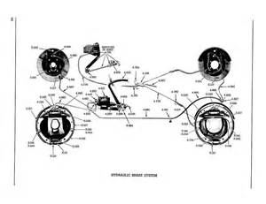 Hydraulic Brake System Parts Pontiac 1956 Master Parts Catalog