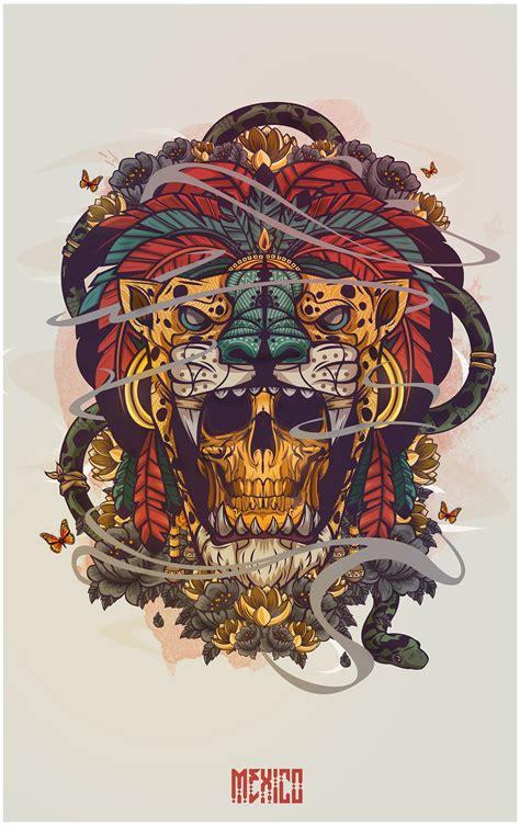 design vs art hecho en mexico on behance skull passion pinterest