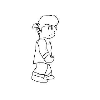 Kipas Lucu Kartun Dan Line 1 animasi multimedia aatin12