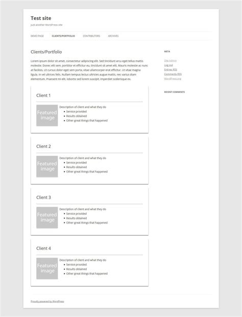 Les Templates De Pages Wordpress Comment 231 A Marche Quiz Site Template