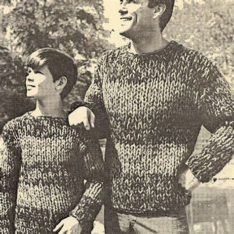 knit sweater pattern large needles make this big needle knit sweater for your guys father