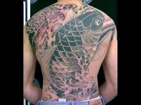 yakuza tattoo fish project japanese koi yakuza tattoo 入れ墨 youtube