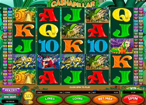 cashapillar gokkast gratis spelen  microgaming gokkasten