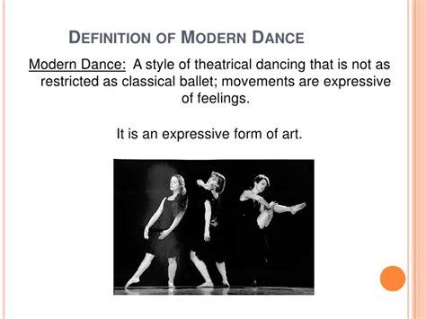 Description Of A Dancer by Twentieth Century Modern